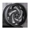 5 LUG SLASHER - X102 GLOSS BLACK