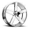 5 LUG BALLER - S115 CHROME