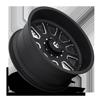 10 LUG FF09D - 10 LUG SUPER SINGLE FRONT MATTE BLACK & MILLED