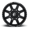 8 LUG FF09D - 8 LUG FRONT GLOSS BLACK MILLED
