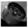 8 LUG FF09D - 8 LUG SUPER SINGLE FRONT GLOSS BLACK