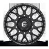 10 LUG FF19D - FRONT MATTE BLACK & MILLED