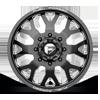 8 LUG FF19D - FRONT GLOSS BLACK MILLED - 22X8.5