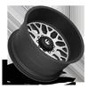 10 LUG FF19D - SUPER SINGLE FRONT MATTE BLACK W/ BRUSHED FACE