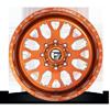 8 LUG FF19D - SUPER SINGLE FRONT TRANS COPPER & MILLED