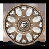 8 LUG FF19D - FRONT GLOSS BRONZE MILLED