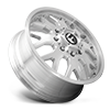 8 LUG FF19D - FRONT BRUSHED GLOSS CLEAR