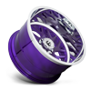 8 LUG FF29 CANDY PURPLE W/ POLISHED LIP