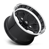 6 LUG FFC101 6 LUG | CONCAVE GLOSS BLACK W/ POLISHED LIP
