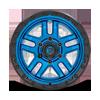 6 LUG AMMO - D790 BLUE WITH BLACK LIP