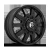 10 LUG MAVERICK DUALLY FRONT - D436 10 LUG SATIN BLACK