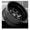 10 LUG MAVERICK DUALLY REAR - D436 10 LUG SATIN BLACK