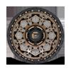 6 LUG UNIT - D785 MATTE BRONZE W/ BLACK RING