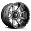 8 LUG RAMPAGE - D238 ANTHRACITE CENTER AND GLOSS BLACK LIP