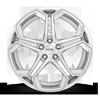5 LUG IMPALA - F170 SILVER MACHINED