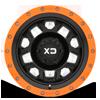 6 LUG XD132 RG2 SATIN BLACK W/ OPTIONAL SPEED ORANGE RING