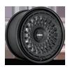 5 LUG LHR-M MATTE BLACK WITH GLOSS BLACK LIP