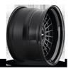 5 LUG LAS-R MATTE BLACK CENTER | GLOSS BLACK LIP