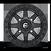 4 LUG MAVERICK BEADLOCK - D936 - UTV BLACK WITH BLACK RING