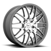 5 LUG MR153 CM10 GUNMETAL MACHINE FACE