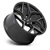 5 LUG TORSION - M266 GLOSS BLACK MILLED