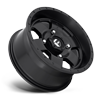 4 LUG PODIUM - D618 - UTV SATIN BLACK