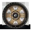 6 LUG PODIUM - D617 BRONZE W/ BLACK LIP