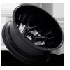 8 LUG RUNNER DUALLY REAR - D741 GLOSS BLACK MILLED - 20X8.25 - ET-214
