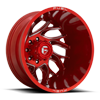 8 LUG RUNNER DUALLY REAR - D742 CANDY RED MILLED - 20X8.25 - ET-240