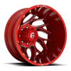 8 LUG RUNNER DUALLY REAR - D742 CANDY RED MILLED - 20X8.25 - ET-214