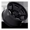 6 LUG RUSH - D766 SATIN BLACK