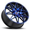 5 LUG R11 BLACK/BLUE