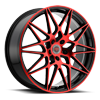 5 LUG R11 BLACK/RED