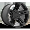 6 LUG SFJ - D763 MATTE BLACK - 20X12