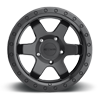 5 LUG SIX-OR MATTE BLACK CENTER W GLOSS BLACK RING