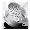 5 LUG STATICA - XB10 BRUSHED W/ GLOSS CLEAR