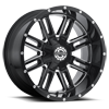 5 LUG SC-18 BLACK MILLED
