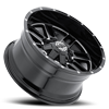8 LUG SC-18 BLACK MILLED