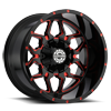 6 LUG SC-16 RED MILLED