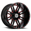 8 LUG SC-18 RED MILLED
