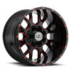 8 LUG SC-19 RED MILLED