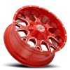 8 LUG SC-19 NEON RED MILLED