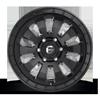 6 LUG TACTIC - D630 MATTE BLACK