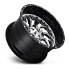 5 LUG D211 TRITON CHROME FACE W/ GLOSS BLACK LIP