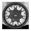 5 LUG TUF-R GLOSS BLACK 19X9.5