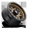 4 LUG ANZA - D583 - UTV BRONZE W/ BLACK RING
