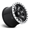 4 LUG HARDLINE - D910 BEADLOCK (LIGHTWEIGHT RING) GLOSS BLACK & MILLED