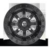 4 LUG MAVERICK BEADLOCK - D938 - OFF ROAD ONLY BLACK & MILLED