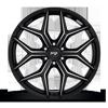 6 LUG VICE - M232 SUV GLOSS BLACK & MILLED
