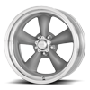 5 LUG VN205 CLASSIC TORQ THRUST II TEXTURED GREY AND POLISHED LIP